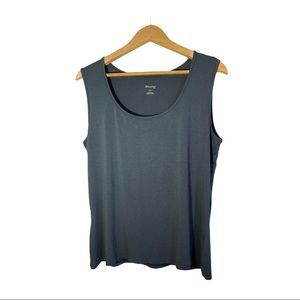 Inspired Style (SPANNER) | Blue-Gray Tank Top | XL